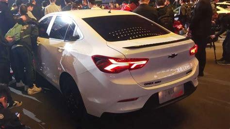 Chevrolet Prisma 2020 China by Novo Chevrolet Prisma 233 Revelado Na China Como Onix