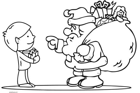 dibujos de navidad para colorear de santa claus dibujos de santa claus para colorear
