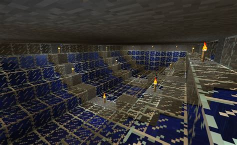 minecraft basement floating creeper house with underwater basement