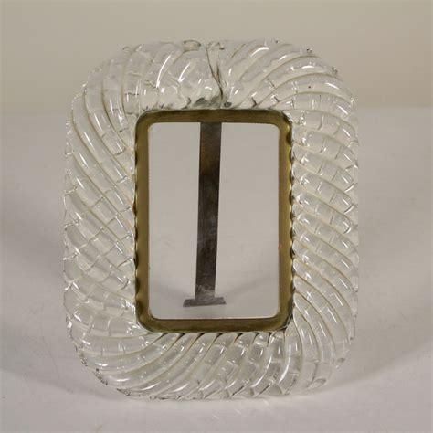 cornice in vetro torchon oggettistica modernariato