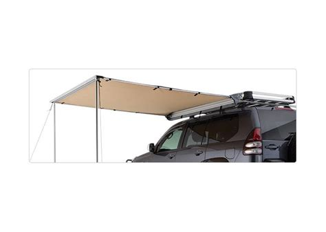 roof rack shade awning voyager shade awning 2 x 2m pr3215