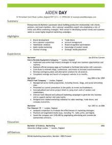 resume format suggestions 1