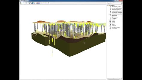 section 3 d tutorial 18 cross section and 3d visualization of