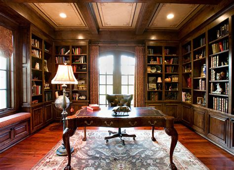 home office library houzz english countryside manor traditional home office