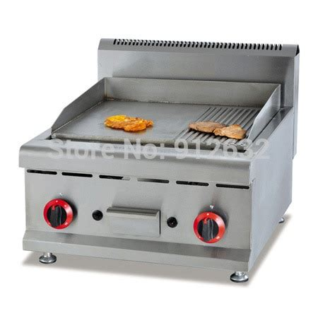 Table Top Gas Griddle Gas Griddle Machine Gh 586 Grill