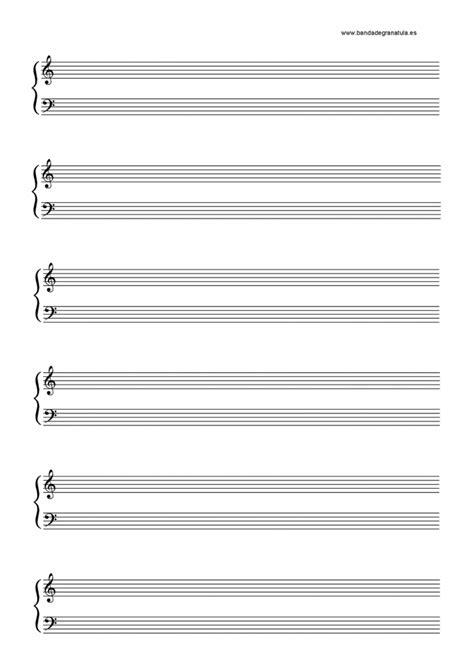 10 Folhas de Pauta Musical em Branco para Baixar em PDF e