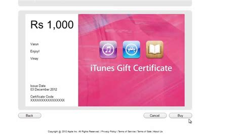 Gift Card India - purchase redeem itunes gift card in itunes india store youtube