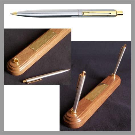 desk pen sets engraved sheaffer sentinel engraved pen pencil desk pen set and