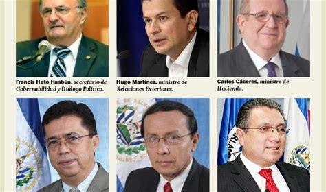 gabinete de la presidencia del gobierno conozca qui 233 nes son los ministros del nuevo gobierno diario1