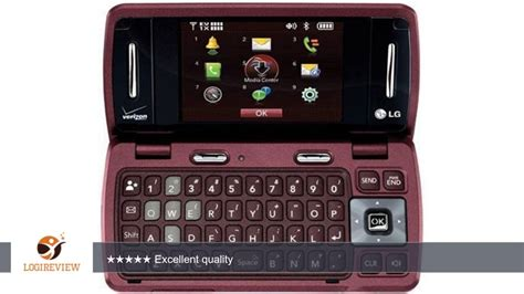 Verizon LG enV3 VX9200 No Contract 3G QWERTY MP3 Camera ... Env3