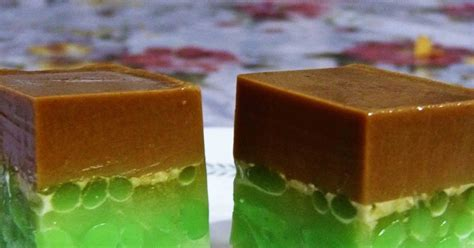 Teh Kotak Uj syapex kitchen puding cendol gula melaka