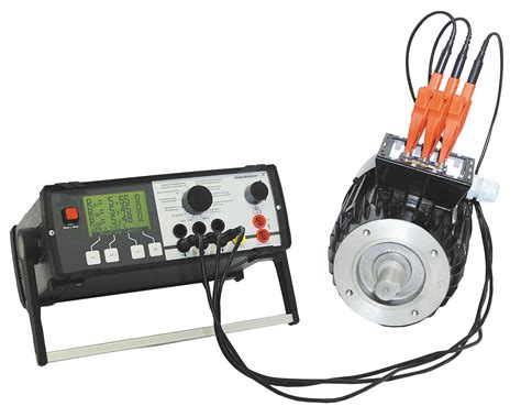 high voltage electric motor testing motatest 1 multi function tester for electric motors