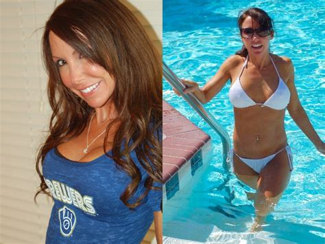 hot chick at brewers game milwaukee talks quot front row amy quot williams onmilwaukee