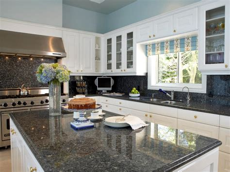 colors for kitchen cabinets and countertops granite countertop colors hgtv