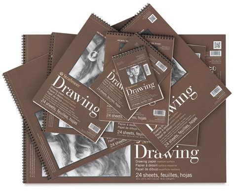 sketchbook size strathmore 400 series drawing paper pads blick materials
