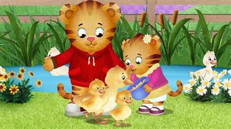 Backyard Picnic Games Daniel Tiger Watch Kids Videos Cbc Kids