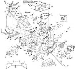 Jeep Wrangler Parts Diagram Power Wheels Limited Edition Jeep Wrangler Parts