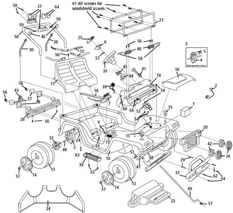 jeep parts diagram power wheels limited edition jeep wrangler parts