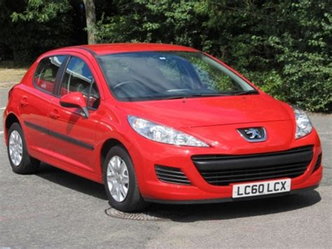 Used Red Peugeot 207 2010 Petrol Excellent Condition For