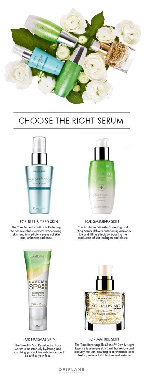 Serum Wajah Makeover 17 best images about oriflame picture on skin care products and