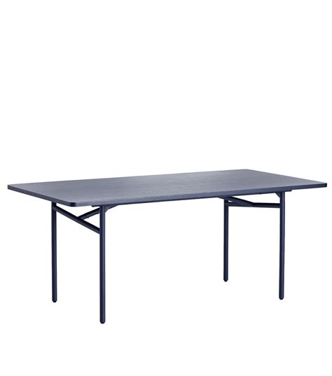 Blue Dining Table by Diagonal Dining Table Blue Woud A S