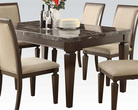 acme dining room sets acme dining set agatha ac70485set