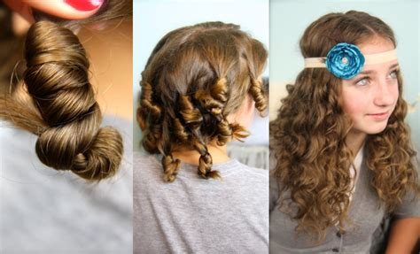 hairstyles with slight curls cocoon curls no heat curl hairstyles cute girls hairstyles