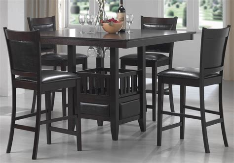 dining room sets counter height jaden counter height dining room set from coaster