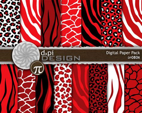 Printed Reds by Zebra Print Wallpaper Www Pixshark Images