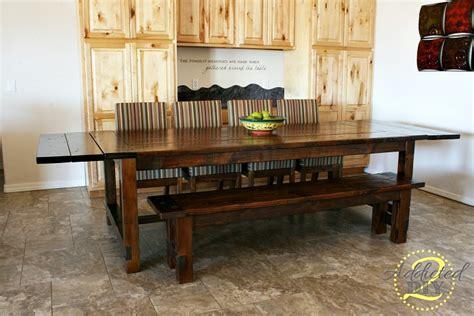 farmhouse table with extensions diy farmhouse table with extensions addicted 2 diy
