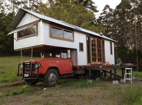 tiny house truck tiny houses built atop classic farm trucks in australia