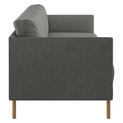 sofa wooden legs hyde charcoal fabric 3 seater sofa wooden legs buy now