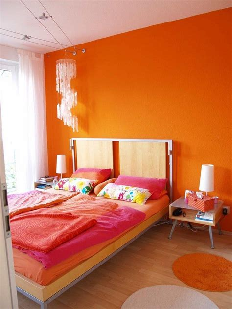 orange color bedroom ideas analogous colors how to create harmonious color