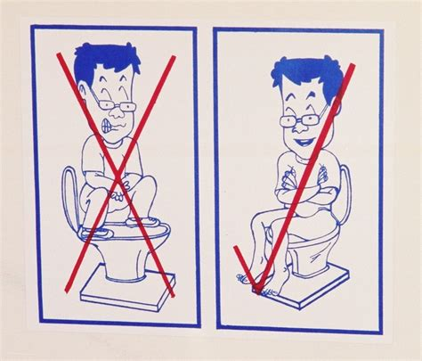 how to use a commode chair how to use the toilet in thailand