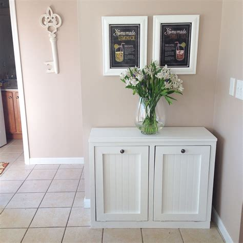 ana white wood tilt out trash cabinet ana white wood tilt out trash and recycling bin that my