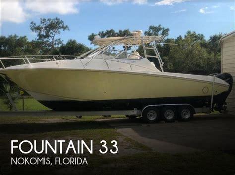 fountain fishing boats for sale florida fountain 33 sportfish boats for sale