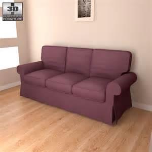ikea ektorp sofa dimensions ikea ektorp sofa 3d model hum3d