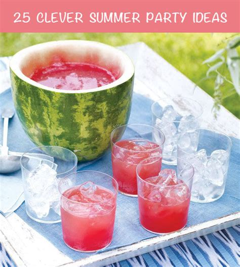 25 summer party themes 25 totally clever summer party ideas
