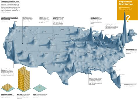 map of usa with population usa population density map collection