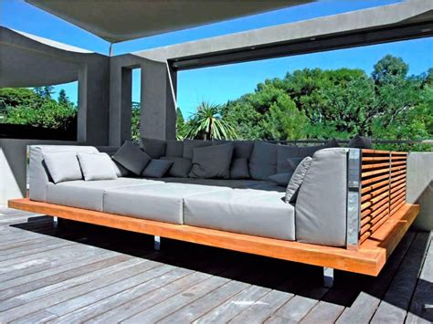 outdoor futon get great comfort with outdoor daybed carehomedecor