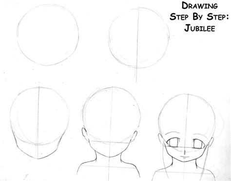 how to draw anime step by step how to draw anime heads