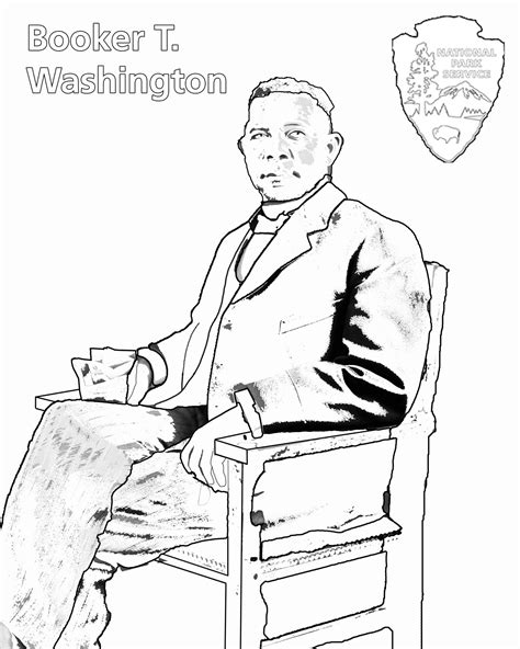 coloring pages booker t washington charles young buffalo soldiers coloring book charles