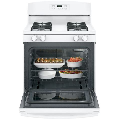 Oven Gas Golden Standard jgbs60dekww ge 4 8 cu ft standard clean gas range white