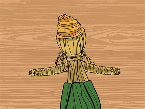 how to make a corn husk doll how to make a corn husk doll with pictures wikihow