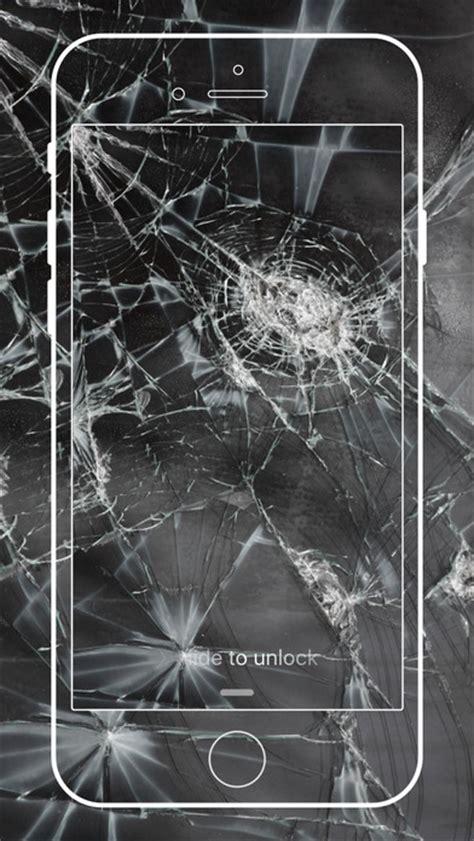 broken screen wallpaper cracked screen prank hd app