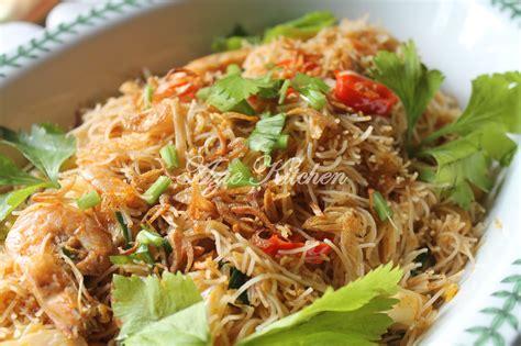 mee hoon goreng  feeza  raja shah azie kitchen