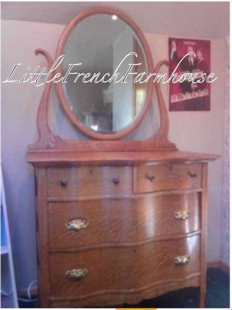 1920 s oak dresser with mirror paint to order 1920 s vintage oak serpentine dresser with