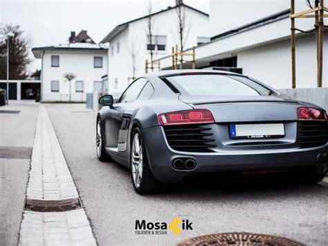 Folie Holzkohle Metallic by Audi R8 Holzkohle Matt Metallic