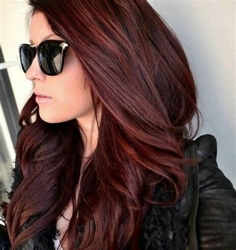 mahogany hair color pictures 25 best ideas about mahogany hair colors on