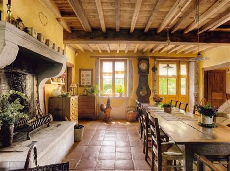 Rustic Country Decor by Country Furniture For Stunning Dining Room